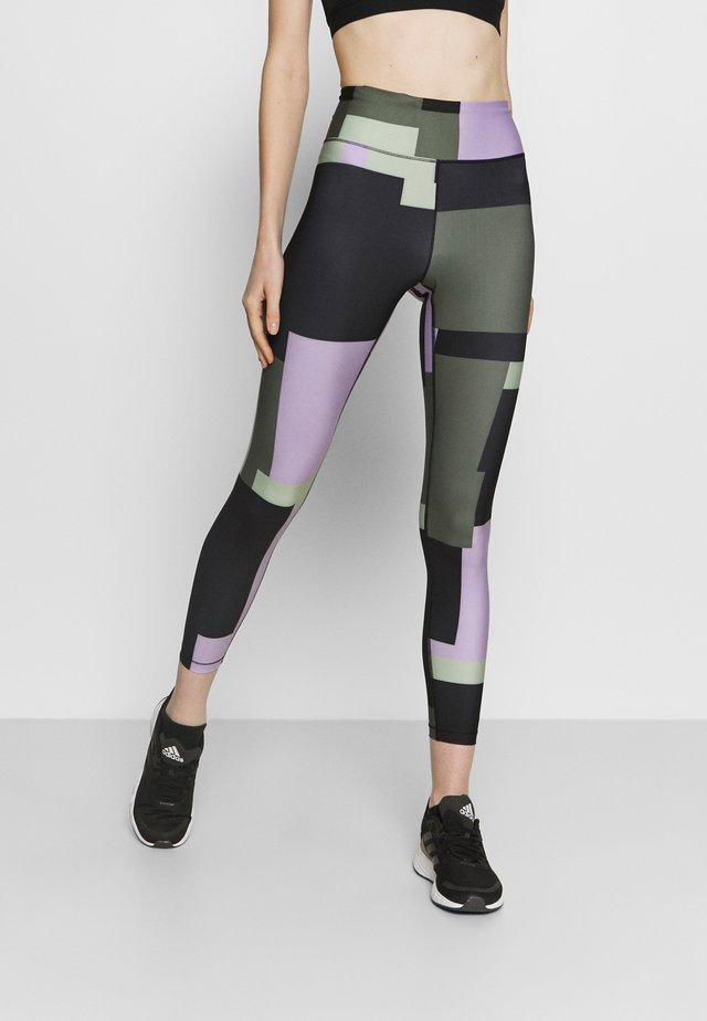 PRINTED SPORT  - Legging - multi-coloured