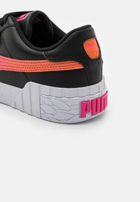 Puma - CALI SPACE JR UNISEX  - Trainers - black/glowing pink - 5