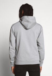 Mennace - ESSENTIAL REGULAR OVERHEAD HOODY WITH SIGNATURE - Felpa con cappuccio - slate grey - 2