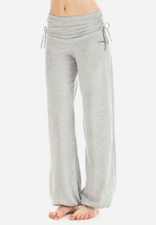 Pantaloni sportivi - grey melange
