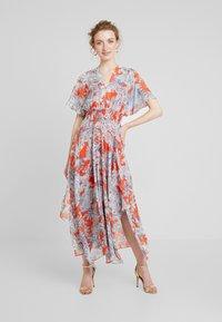 Pedro del Hierro - GATHERED DRESS - Maxi dress - reds - 0
