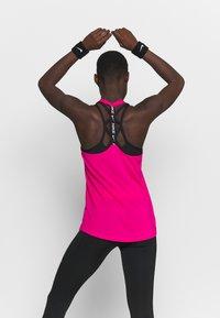 Nike Performance - DRY ELASTIKA TANK - Funkční triko - fireberry/black - 2