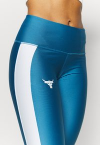 Under Armour - PROJECT ROCK ANKLE CROP - Tights - acadia - 5