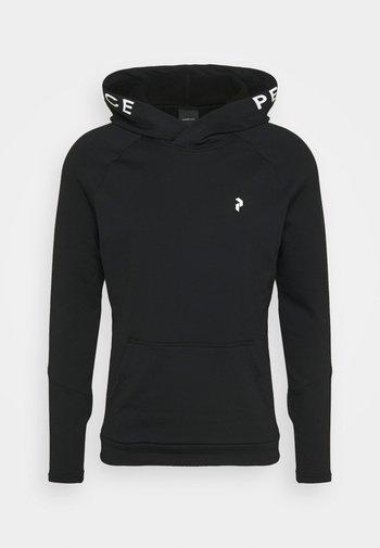 RIDER HOOD - Sweatshirt - black