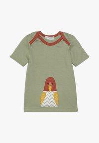 Sense Organics - TOBI BABY - T-shirt print - olive - 0