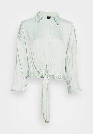 SHEILA BLOUSE - Pitkähihainen paita - pale aqua
