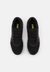 ASICS - JOLT 3 - Zapatillas de running neutras - black/hot pink - 3