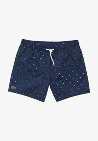 Lacoste - Swimming trunks - navy blau/weiß - 4