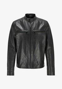 BOSS - NADILO - Veste en cuir - black - 5