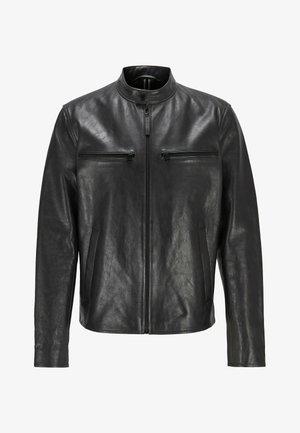NADILO - Veste en cuir - black