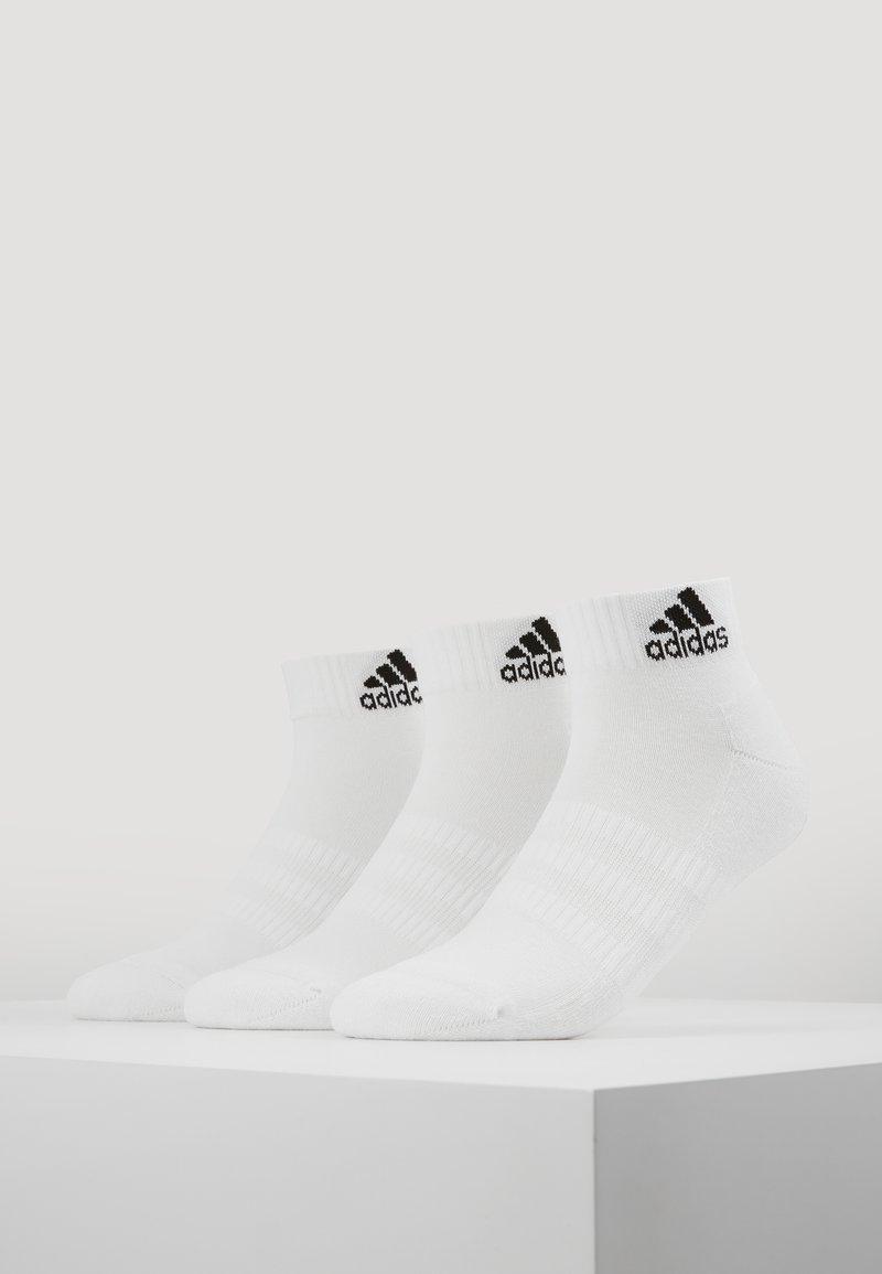 adidas Performance - CUSH ANK 3 PACK - Sports socks - white
