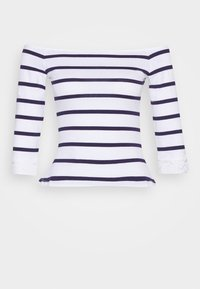 Anna Field Petite - Print T-shirt - white/dark blue - 4