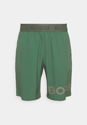 Sports shorts - duck green