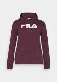 Fila Plus - PURE HOODY - Felpa con cappuccio - tawny port - 3