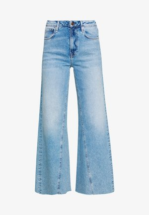 HAILEY - Flared jeans - denim
