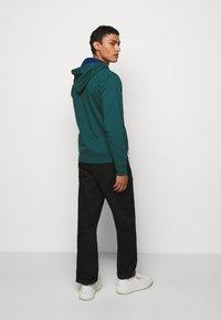 PS Paul Smith - ZIP HOODY - Mikina na zip - dark green - 2