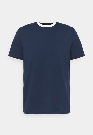 MENNACE PATCH CREW NECK - T-shirt con stampa - navy