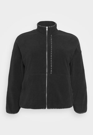 NMKITTY ZIP CARDIGAN - Bomberjacka - black