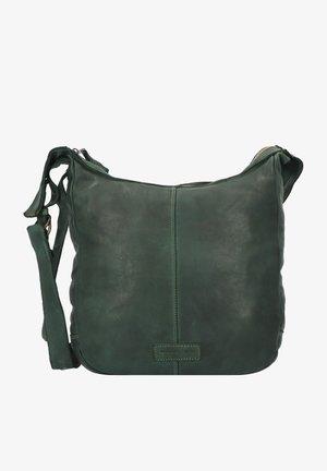 SUBMARINE - Across body bag - grün