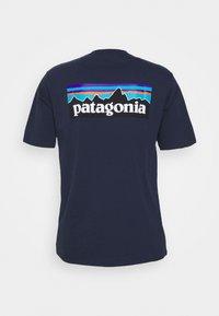 Patagonia - LOGO RESPONSIBILI TEE - T-shirts print - classic navy - 1