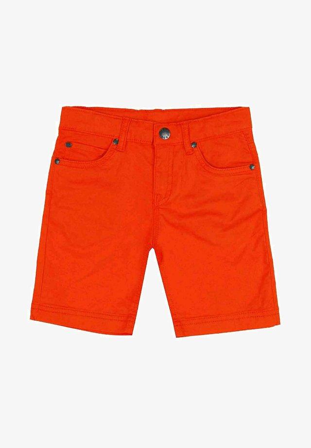 Shorts di jeans - naranja