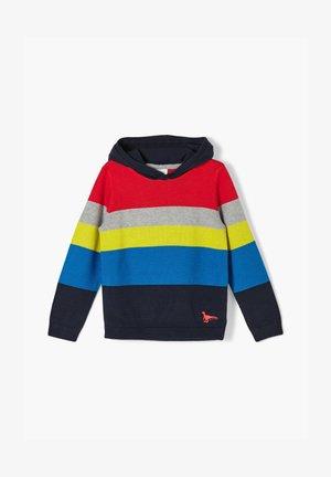 Hoodie - red knit