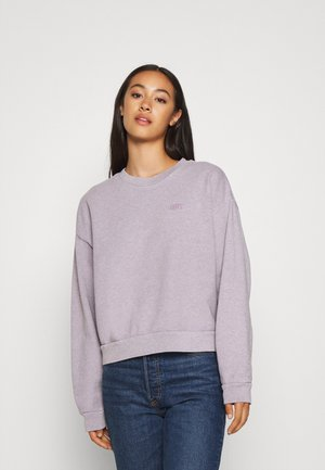 DIANA CREW - Sweatshirts - heather lavender frost garment