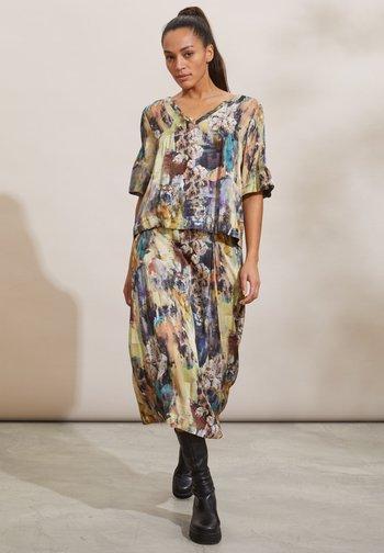 GAIA - A-line skirt - multi