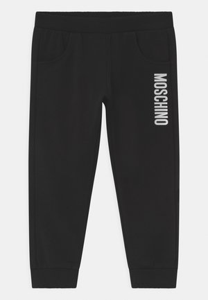 UNISEX - Trousers - black