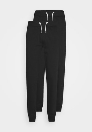 2 PACK - Tracksuit bottoms - black