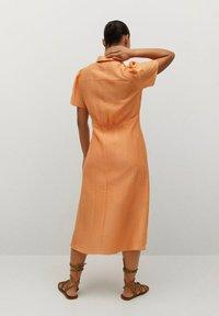 Violeta by Mango - Skjortklänning - orange - 1