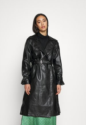 COAT - Trenchcoat - black