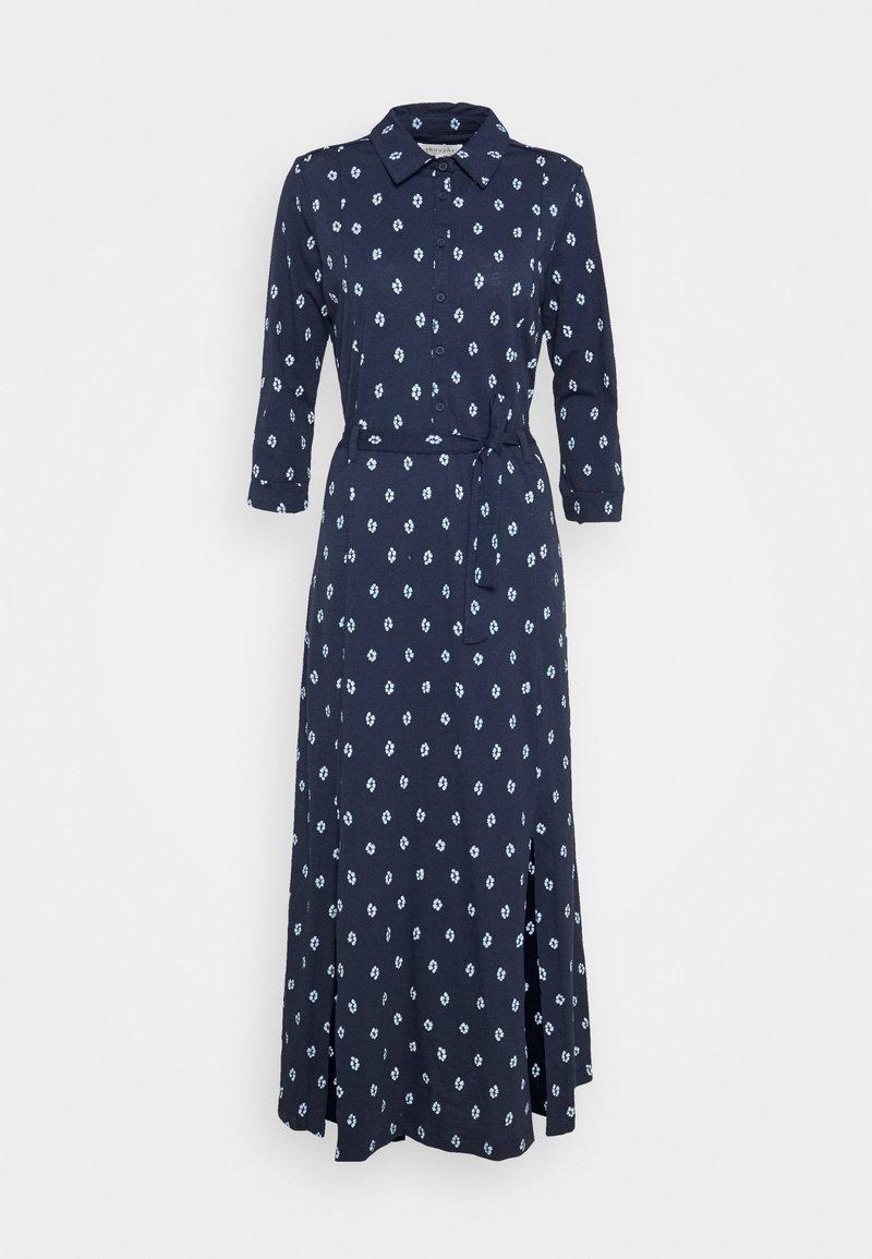 Thought - ROMESHKA SHIRT DRESS - Košilové šaty - navy