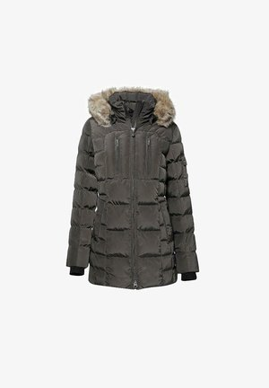 Winter jacket - titangrau