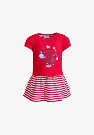 Day dress - lollipop red