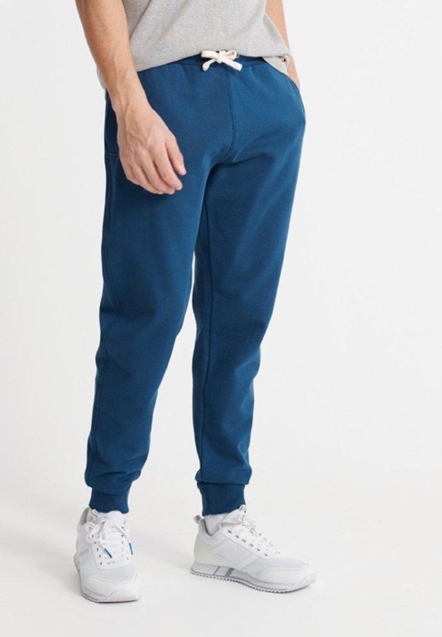 Tracksuit bottoms - pilot mid blue