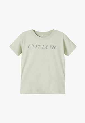 T-shirt print - desert sage