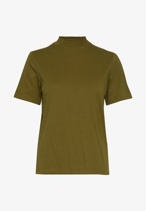 IHRANIA - Basic T-shirt - fir green