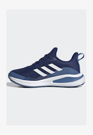 EQ21 EL RUNNING BOUNCE PRIMEGREEN SHOES - Neutral running shoes - blue/white