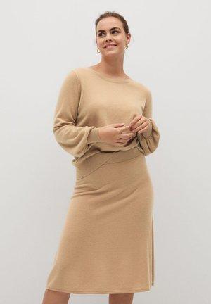 CASHLINI - Sweter - mittelbraun