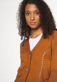 JDY - JDYFLORAL - Cardigan - brown - 3