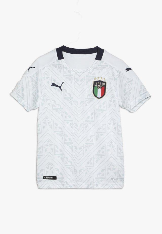 ITALIEN FIGC AWAY JERSEY - Article de supporter - white/peacoat