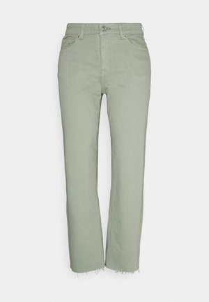 BYKATO BYLYDIA - Jeans relaxed fit - iceberg green