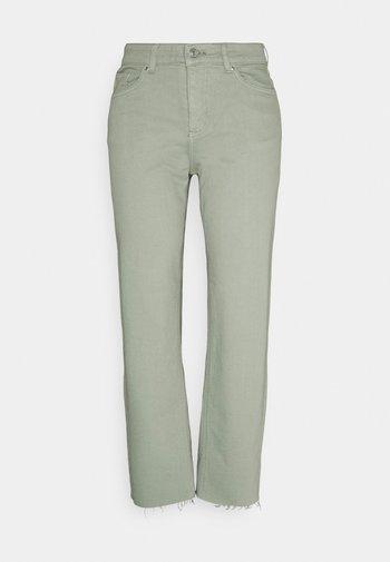 BYKATO BYLYDIA - Relaxed fit jeans - iceberg green