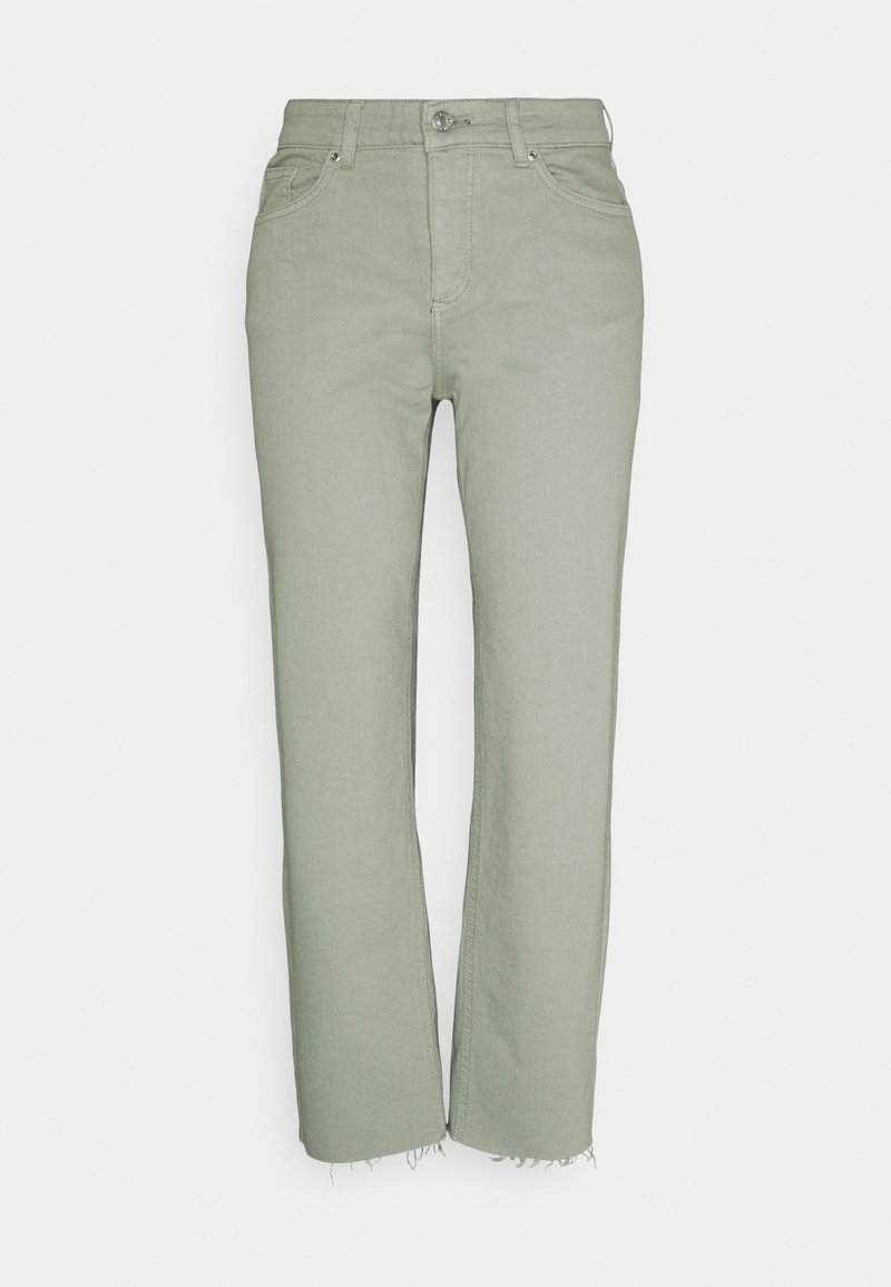 b.young - BYKATO BYLYDIA - Relaxed fit jeans - iceberg green