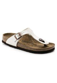 Birkenstock - GIZEH GRACEFUL - Sandalias de dedo - white - 3