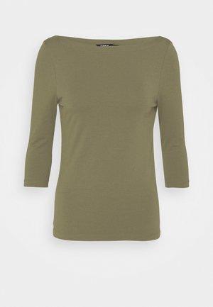 ONLAYA BOATNECK - Long sleeved top - kalamata