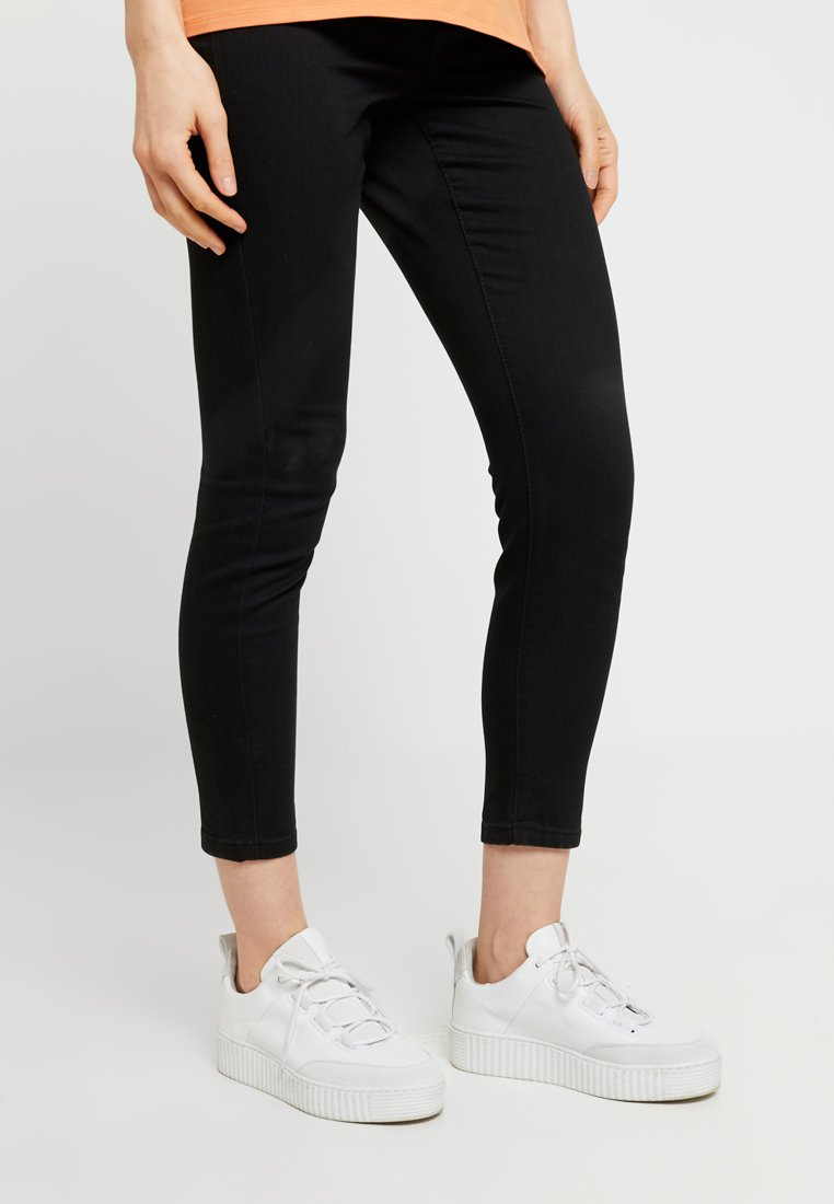 Cotton On - MID RISE MATERNITY  - Jeansy Slim Fit - black