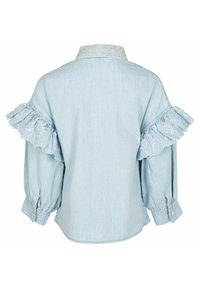 River Island - Button-down blouse - blue - 1