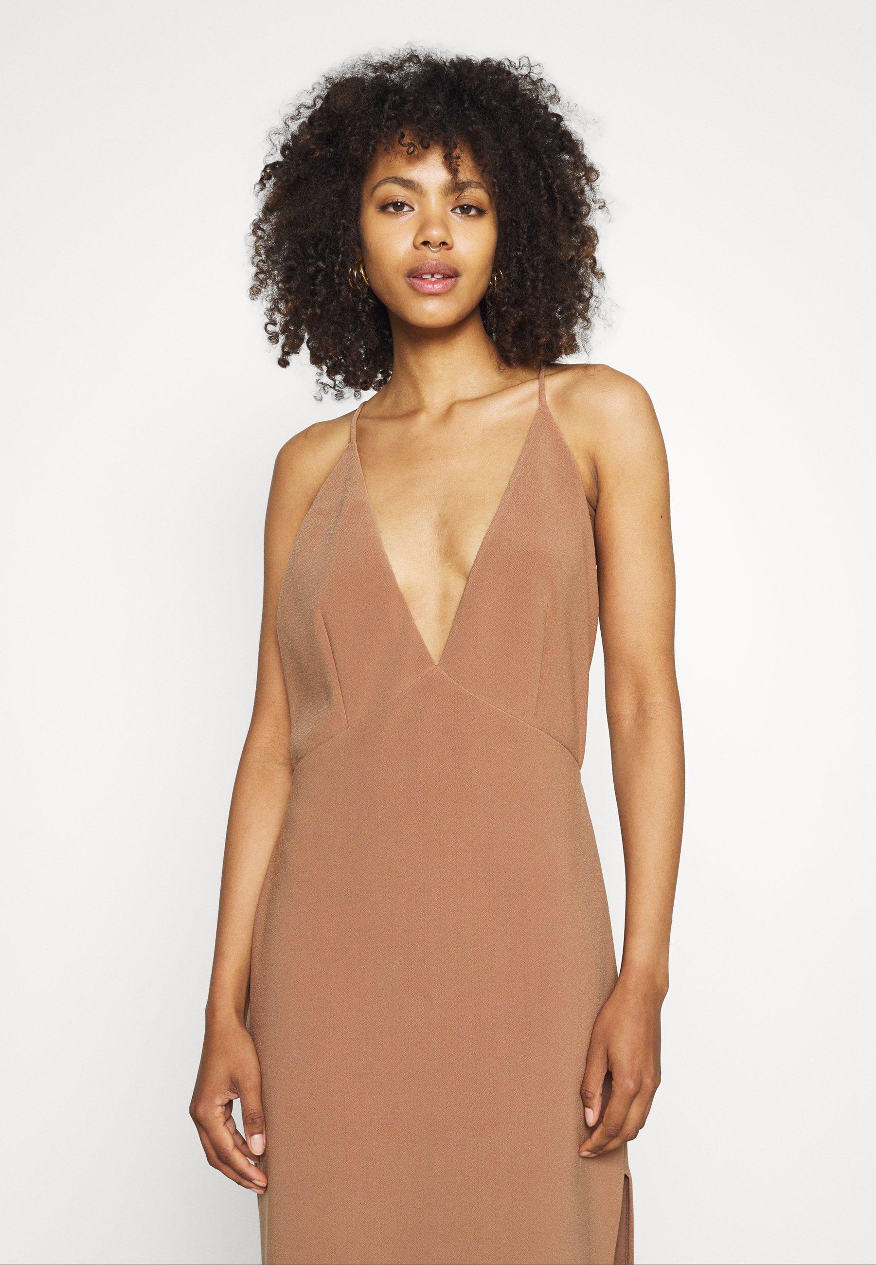 Women MADDISON V MIDI DRESS - Maxi dress